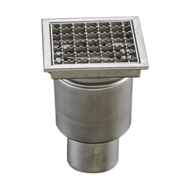Stainless steel floor drains product range image