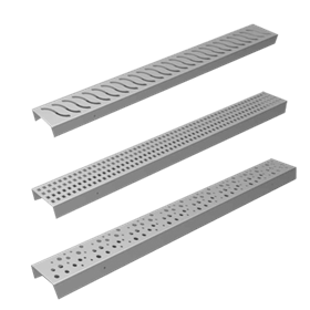 Harmer stainless steel channels product range image