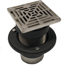 cast iron vari-levelfloor gullies and access covers product range image